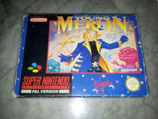 Young Merlin SNES