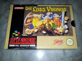 The Lost Vikings SNES
