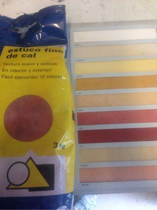 Estuco A La Cal Color Rubi No Lo Deje Escapar!,;