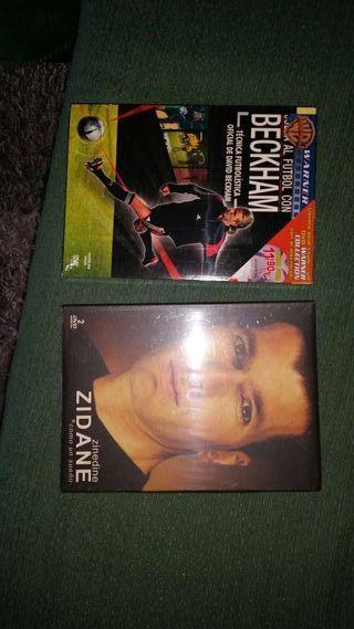 DVDs Zidane y Beckham