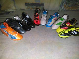 Mini botas de futbol