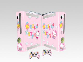 Vinilos Xbox Fat Hello Kitty