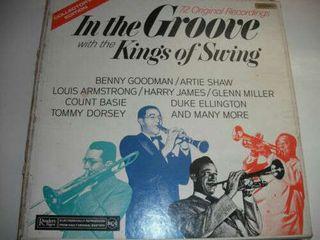 Disco vinilo de jazz