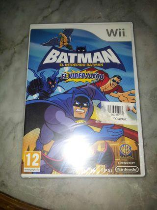 Batman el Intrépido Wii PRECINTADO