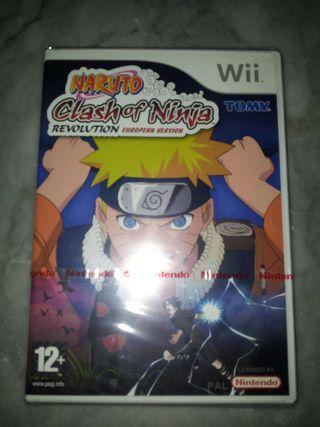 Naruto Clash of Ninja Revolution Wii PRECINTADO