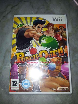 Punch Out!! Wii PRECINTADO
