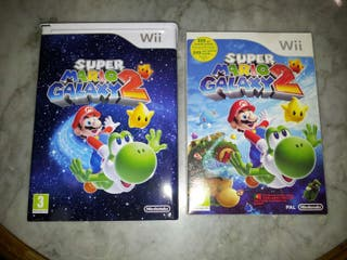 Super Mario Galaxy 2 + Caja Metal Limitada Wii PRECINTADO