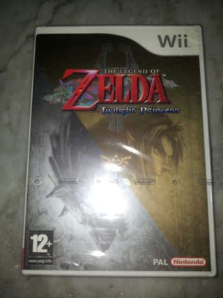 The Legend of Zelda Twilight Princess Wii PRECINTADO