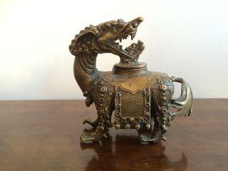 Bronze Brûle Parfum Chine 19 ème