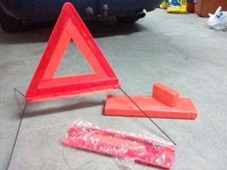 Triángulos reflactantes para coche sin estrenar