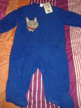 Pijama 9m nuevo