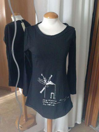 Camiseta larga NUEVA talla M
