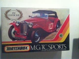 M.G.TC SPORTS DE MATCHBOX