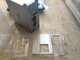 Caja Power Mac G5 + adaptadores ATX