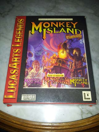 Monkey Island Saga PC CAJA GRANDE