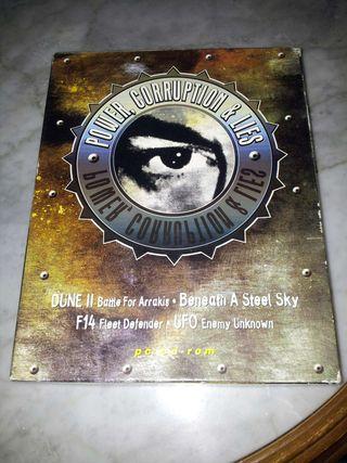 Beneath a Steel Sky + Dune II + F14 Fleet Defender + UFO Enemy Unknown PC CAJA GRANDE