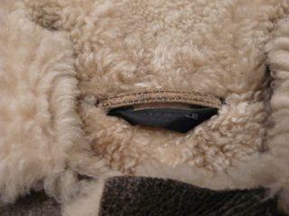 """Veste Mouton Retourné """"full Circle"""" Taille L Unisex"""
