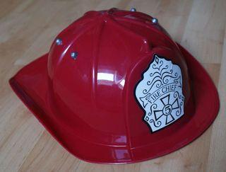 Casco de bomberos