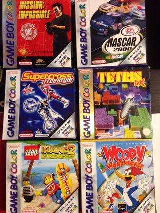 Juegos Game Boy Color