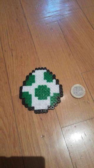 Hama beads huevo yoshi