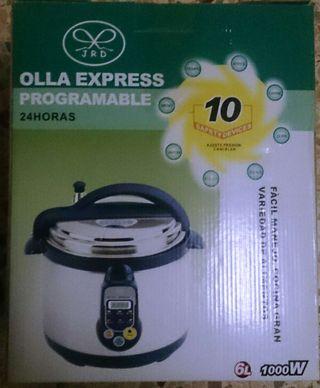 Robot cocina olla express