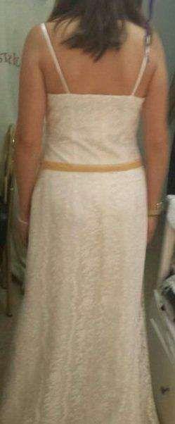 Vestido de novia encaje vintage