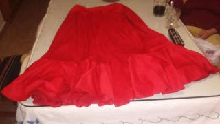 Falda flamenca baile