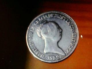 20 reales 1852 mbc