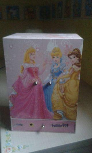 Armario joyero princesas Disney