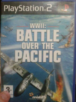 Juego ps2 wwii: battle over the pacific