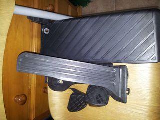 Kit acelerador, embrague y freno