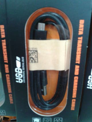 Cable datos movil micro usb y v8