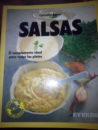 Libro de cocina de Salsas