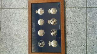 Monedas del escudo del Real Madrid
