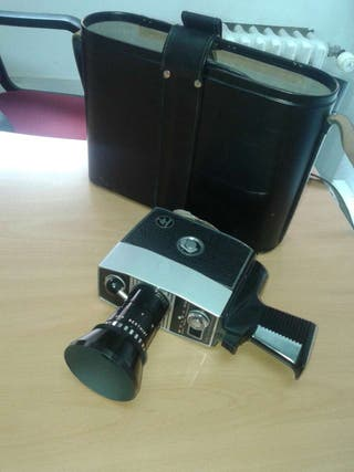 Camara de video Bolex Paillard 8mm