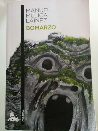 Libro Bomarzo. Autor Manuel Mújica Lainez