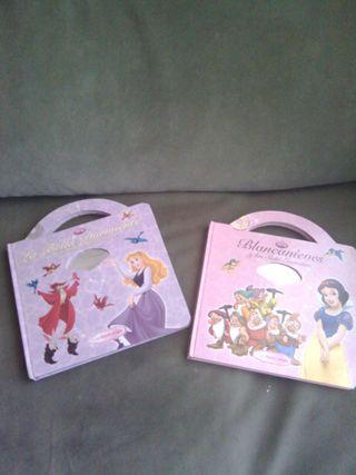 Lote dos cuentos con CD