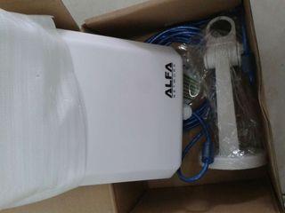 Super alfa antena wifi 30 dbi por segundo