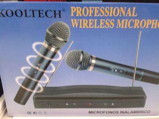 Microfonos inalámbricos