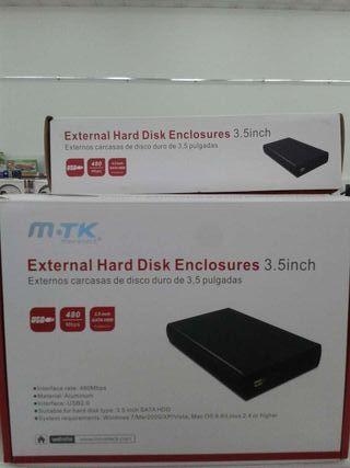 Caja externa para disco duro SATA