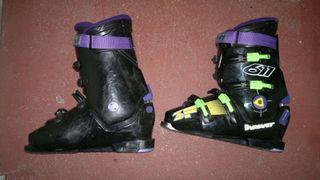 Botas esquí.