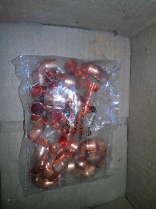 50 uds. Codo 15 mm cobre h-h