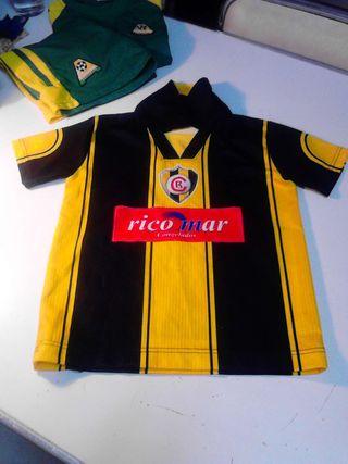 Camiseta fútbol niño
