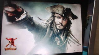 Tapete plastificado Piratas del Caribe