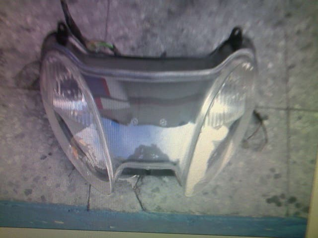 Faros scooter