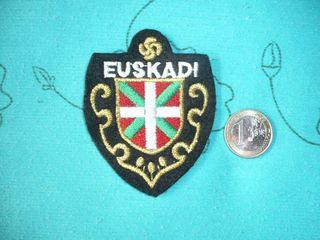 Escudo bordado de Euskadi