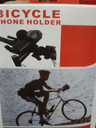 Soporte móvil bicicleta