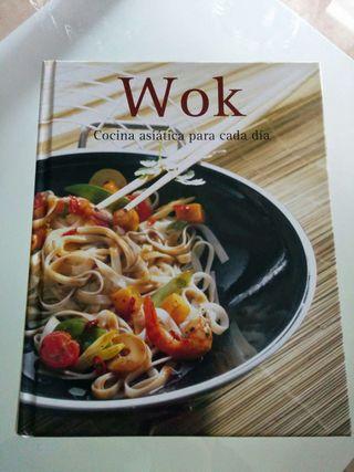 Libro de cocina asiática Wok