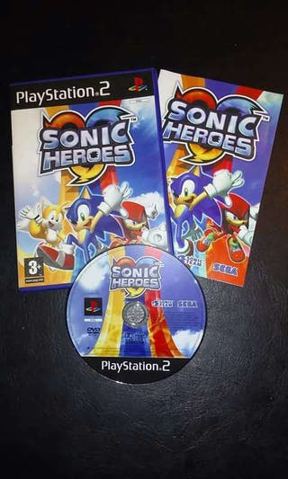 Videojuego Play Station 2 Sonic Heroes