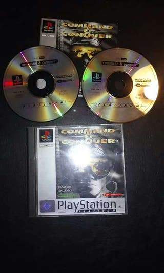 Videojuego Play Station Command & Conquer